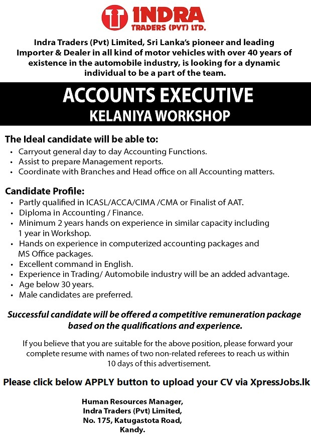 stunning part qualified management accountant resume contemporary - Acca Cv