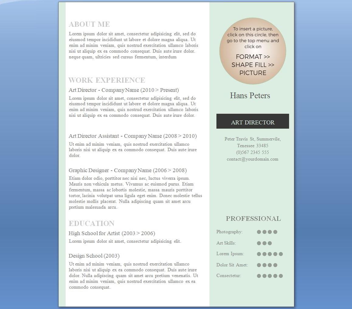 Career guidance xpressjobs elegant one one page cv format altavistaventures Choice Image